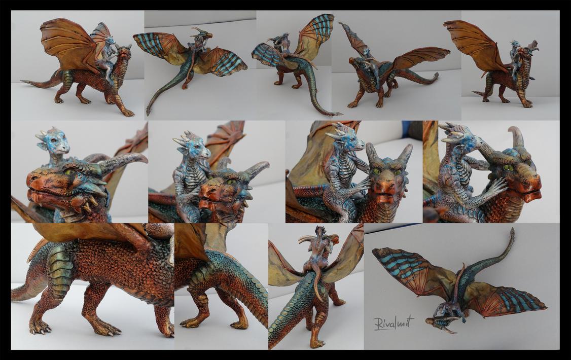 Dragon rider by rivalmit