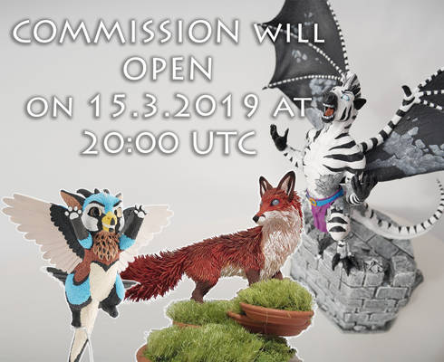 COMMISSIONS OPEN 15.3.2019