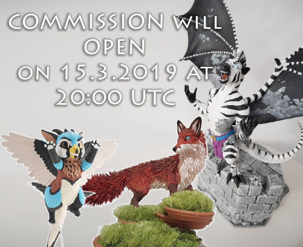 COMMISSIONS OPEN 15.3.2019 by rivalmit