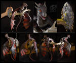 Drogon Game of thrones by rivalmit