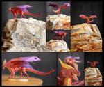 Tiny Akulatraxas dragon