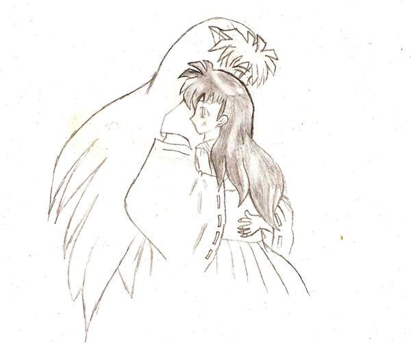 Aome y inuyasha para dibujar - Imagui