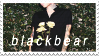b l a c k b e a r : stamp by byamby