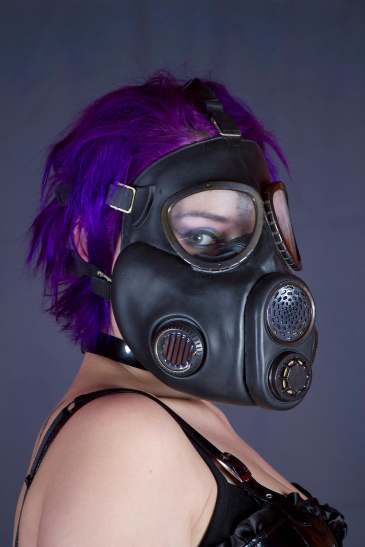Gas Mask Chick by Gasmaskguard