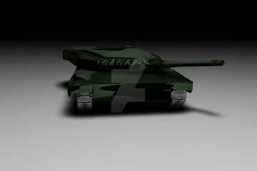 Leopard2 ' 3d-Mesh