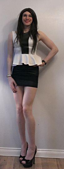 Crossdresser In Skirt 121