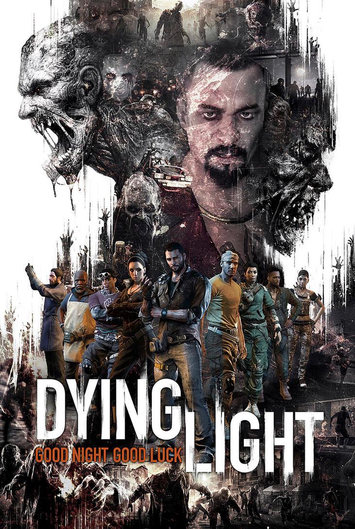 Dying Light FanArt Poster By Fidotc