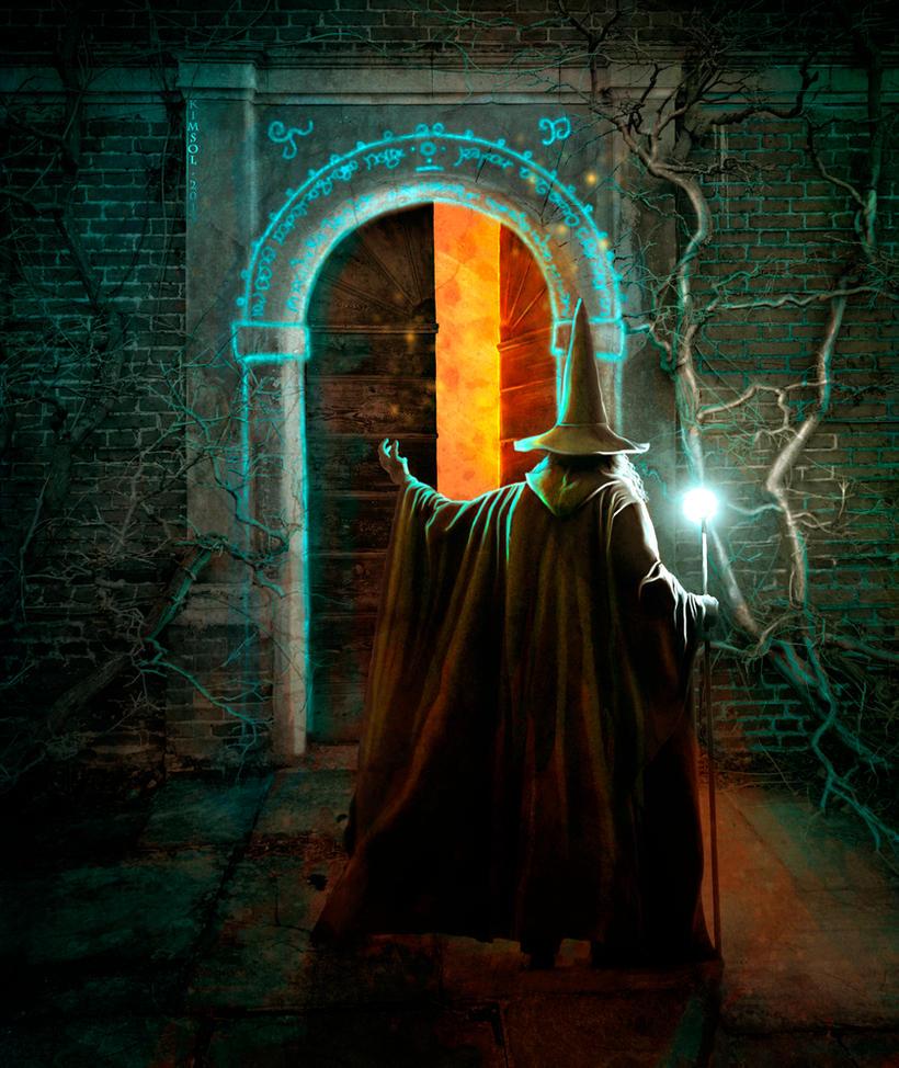 The Door to Moria by kimsol ... & The Door to Moria by kimsol on DeviantArt