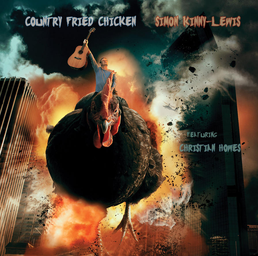 CD Cover Commission - Country Fried Chicken by kimsol