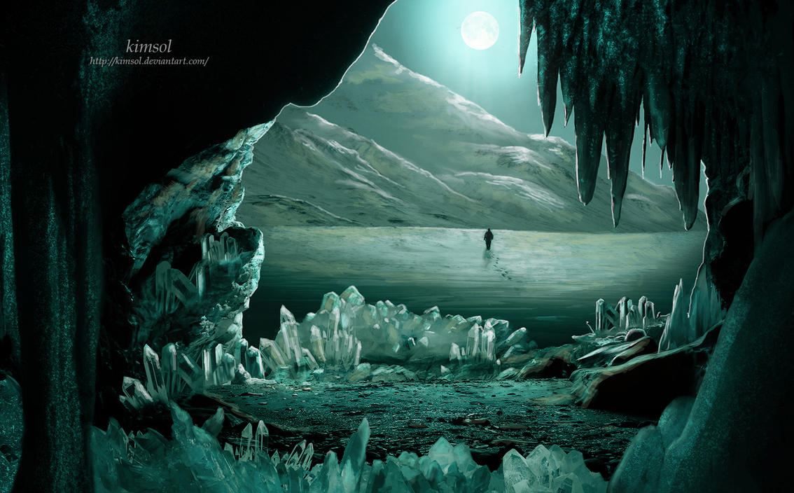 Crystal Cavern by kimsol