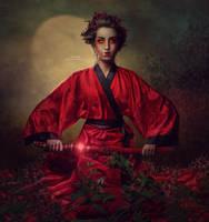 Onna-bugeisha by kimsol