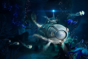 Goodbye Atlantis by kimsol