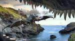 Dragon Soaring by kimsol