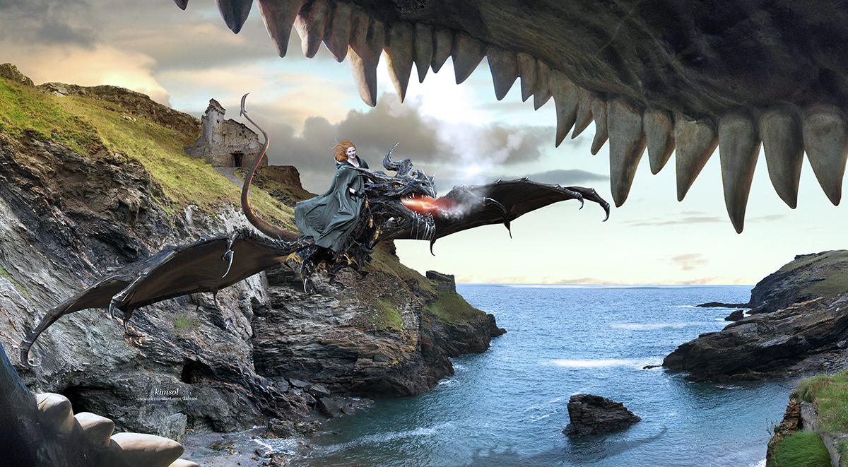 Dragon Soaring