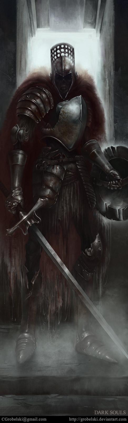 dark souls fanart by Grobelski