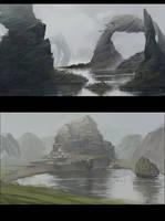 Studies from imagination by Grobelski