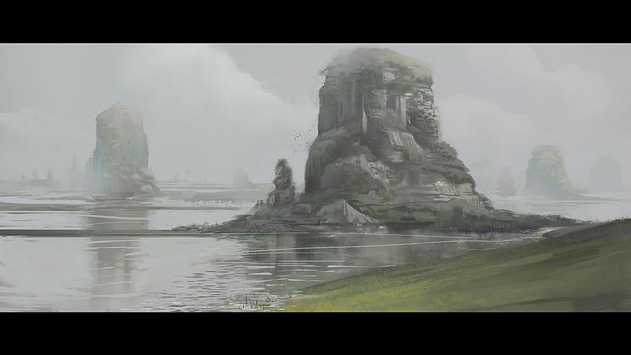 landscape n shiit by Grobelski