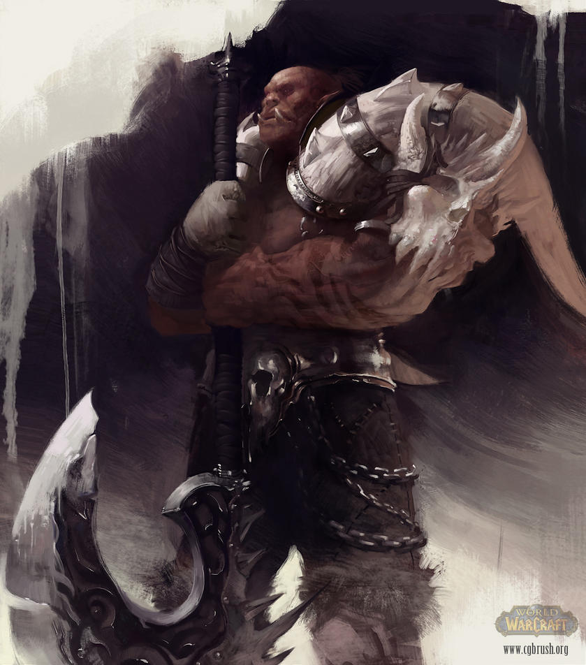 Garrosh Hellscream by Grobelski