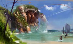 Speedpainting 5 - Guild wars 2 fanart