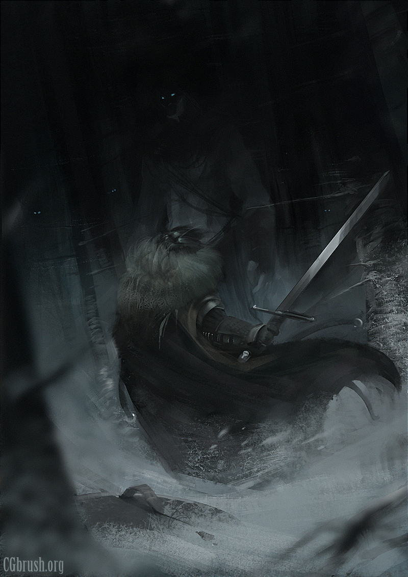 Speedpainting 8 Game-of-thrones-fanart by Grobelski