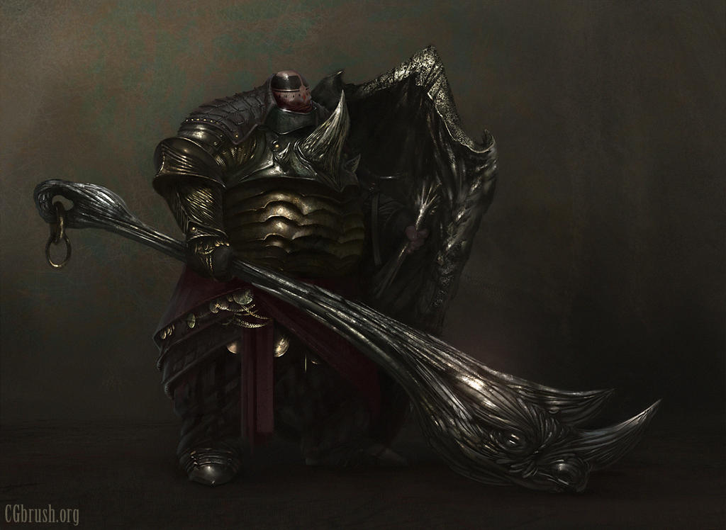 fat knight concept by Grobelski