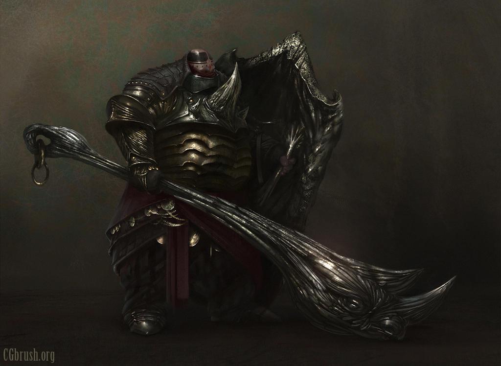 fat knight concept by Grobelski