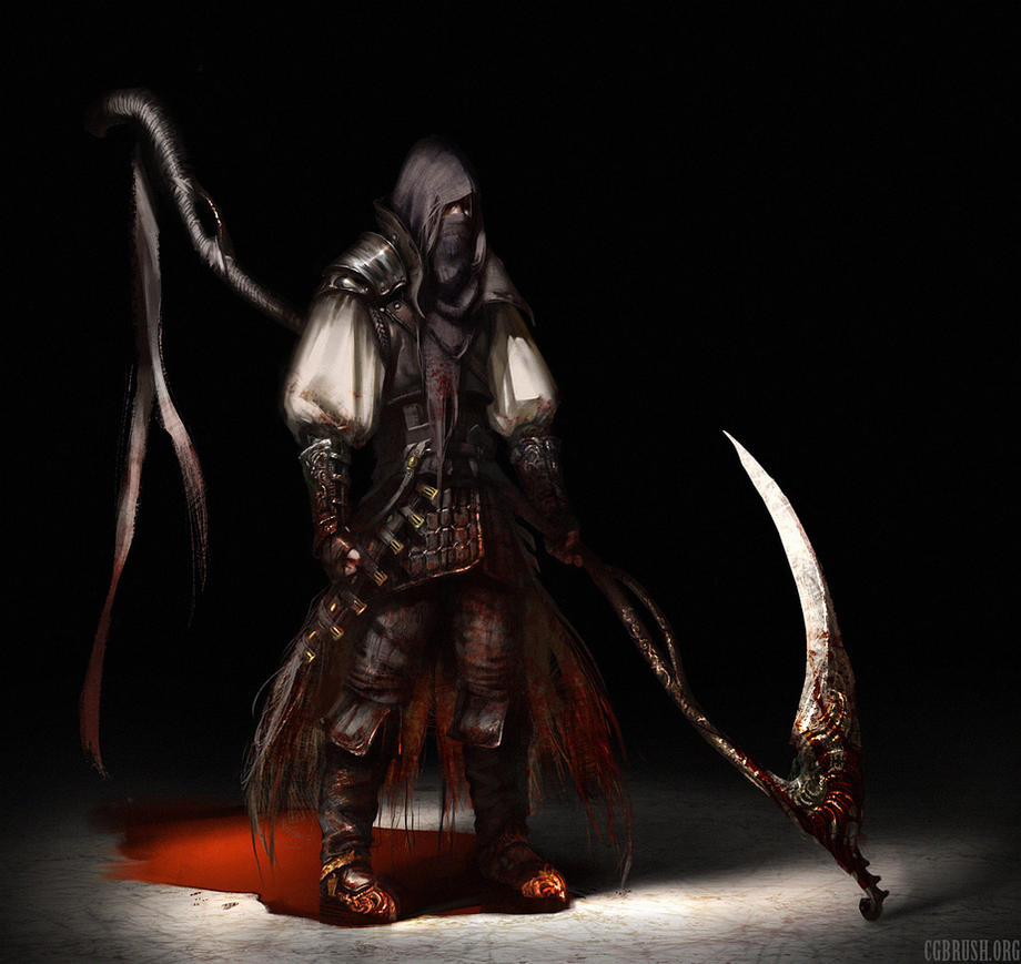 bloodborne concept art by Grobelski on DeviantArt
