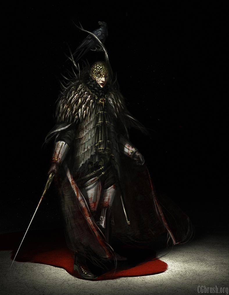 bloodborne character concept by Grobelski on DeviantArt