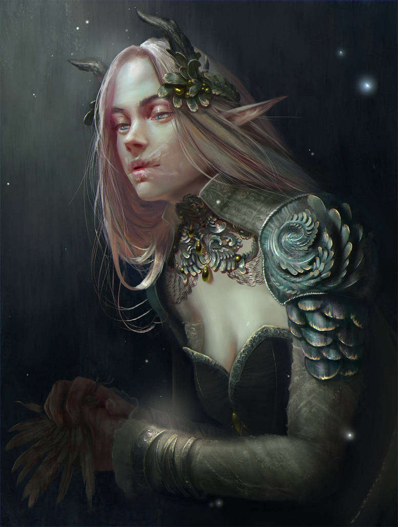 Portrait by Grobelski