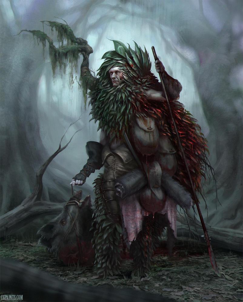 woodpeople - Hunter by Grobelski