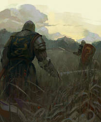 Knights by Grobelski