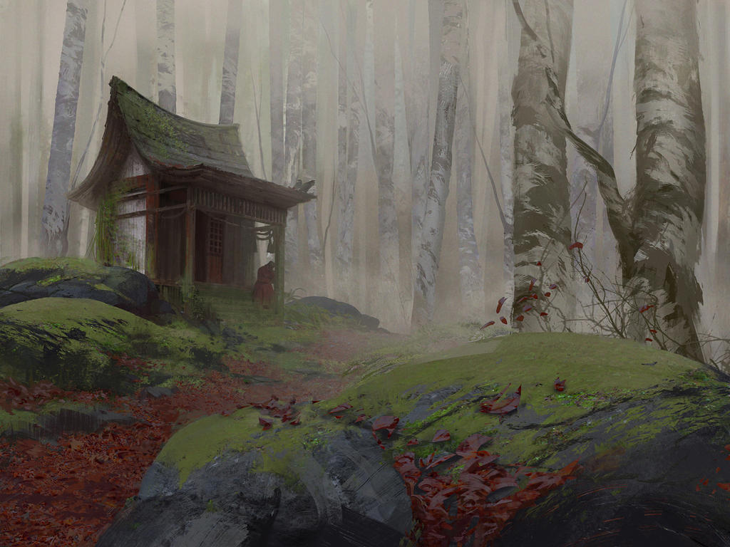 Forest by Grobelski