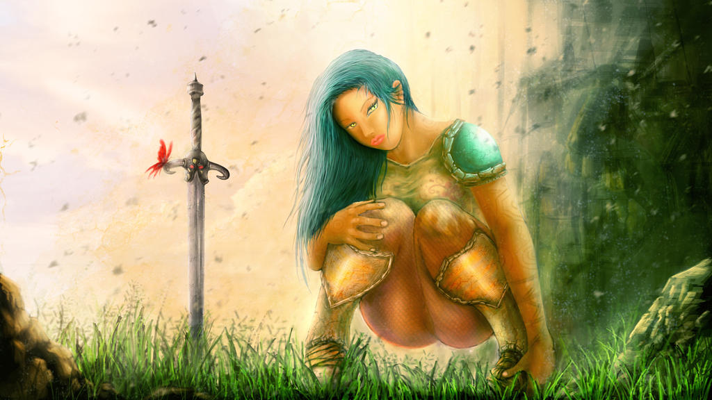warrior by beowolfkiller2