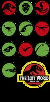 the Lost World Jurassic Park dinosaurus