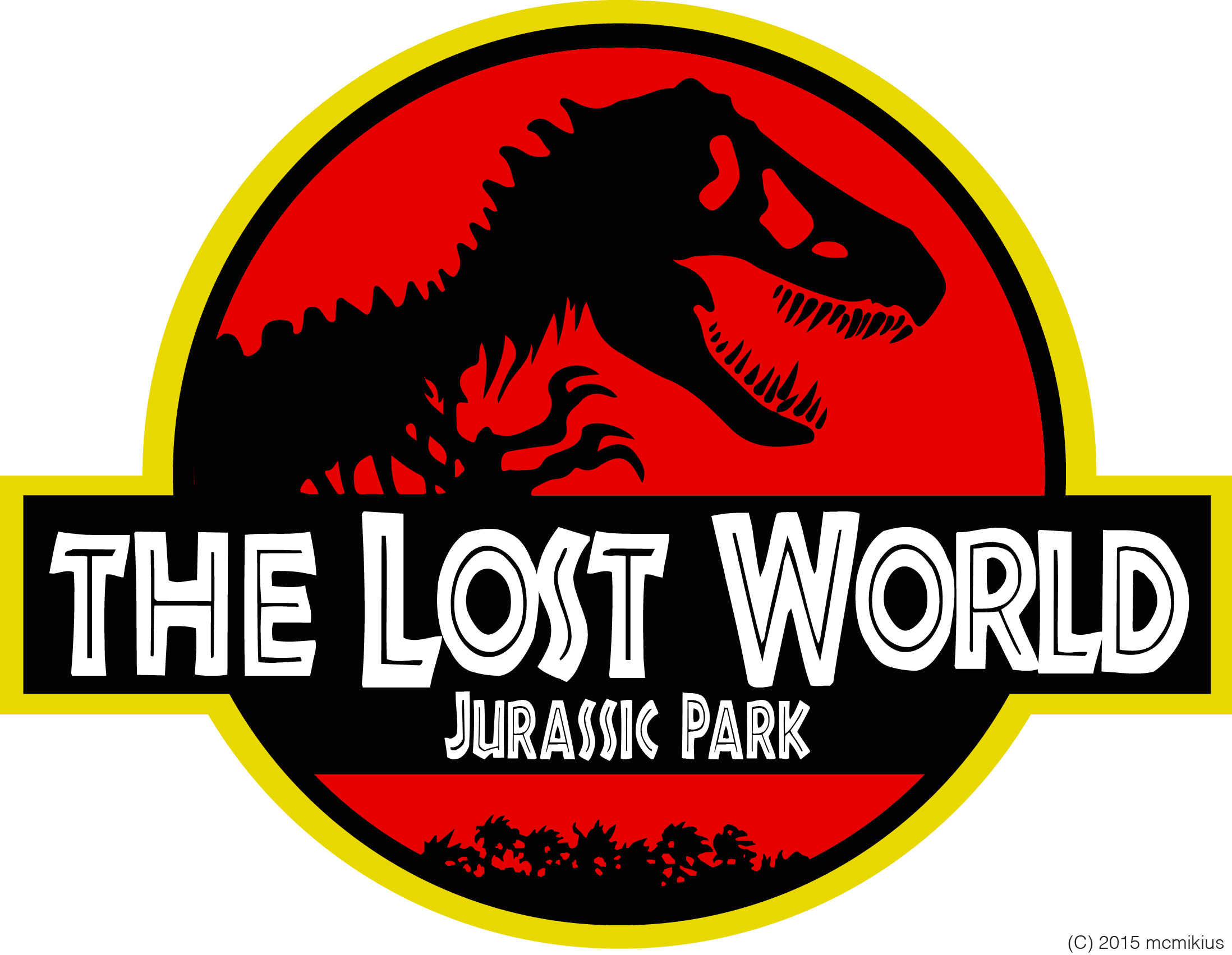The Lost World Jurassic Park Logo by mcmikius on DeviantArt