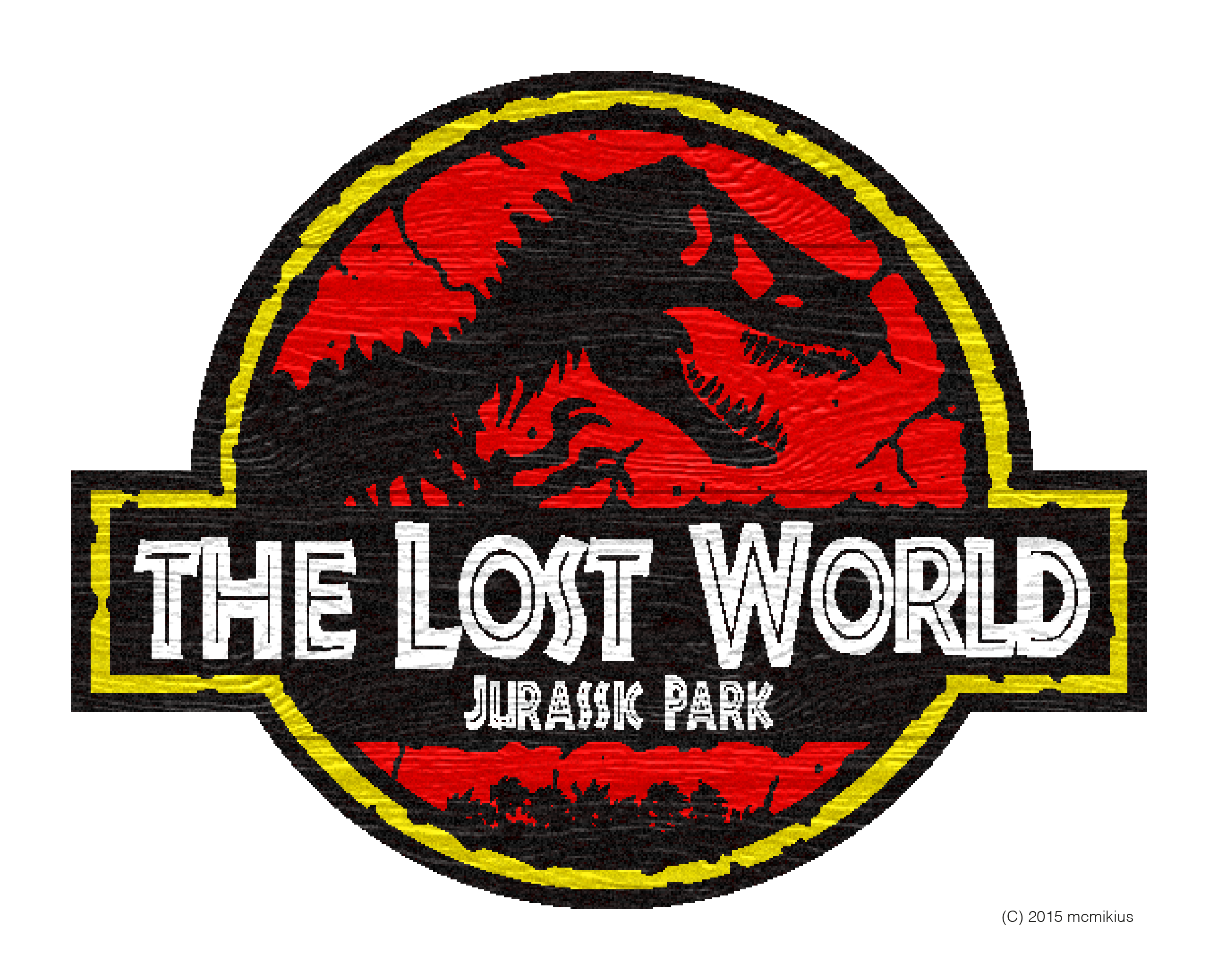 The Lost World Jurassic Park Logo ver 2