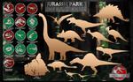 Jurassic Park 3 vector kit
