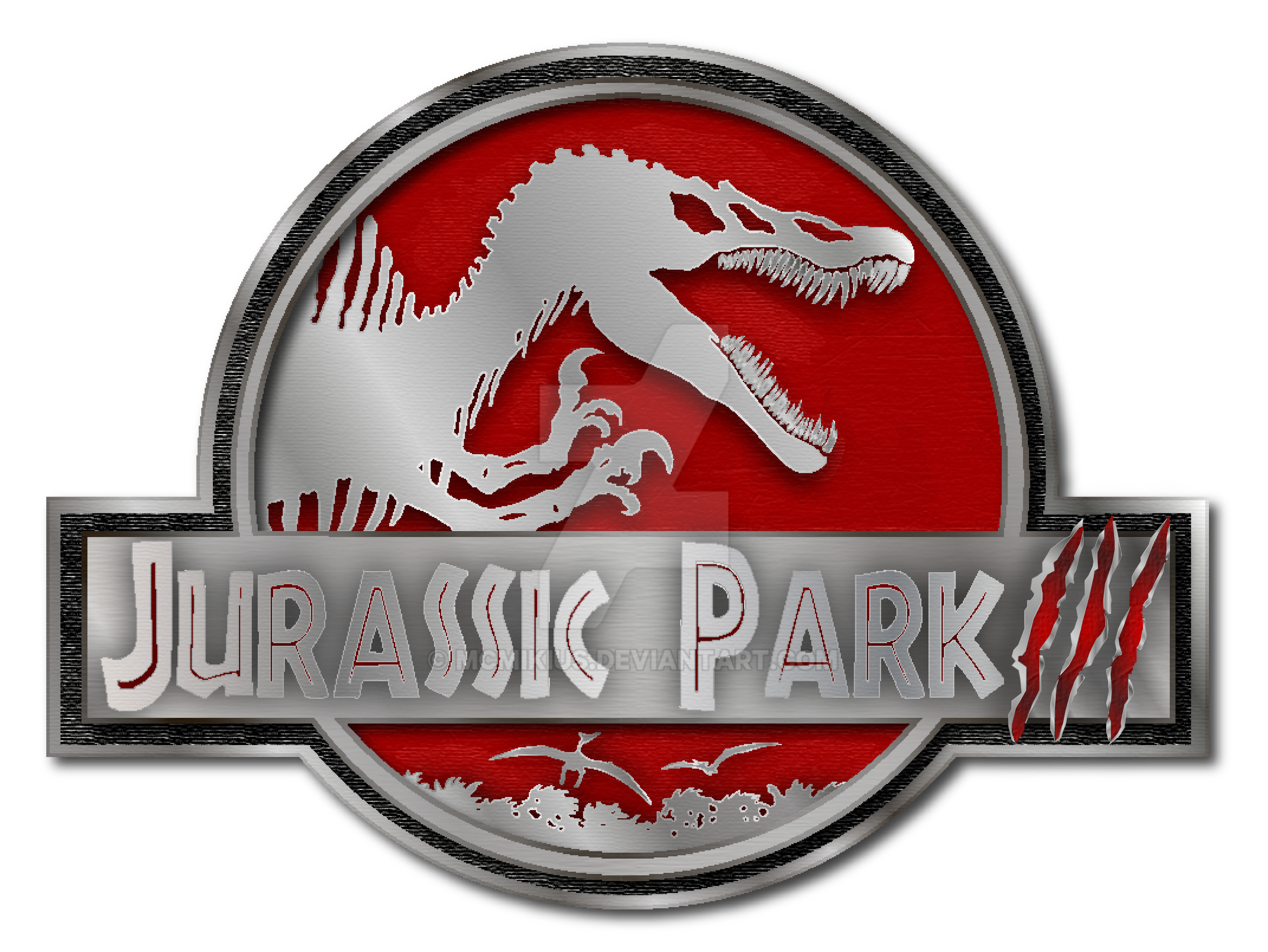 jurassic park 3 logo by mcmikius on DeviantArt