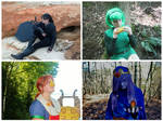 My Cosplays: Dark Link, Saria, Medli, and Vaati