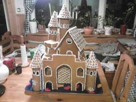 gingerbread-castle