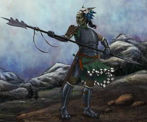 Baldur's Gate II EE: OC Urod Mage/Wizardslayer by Fauauflauf