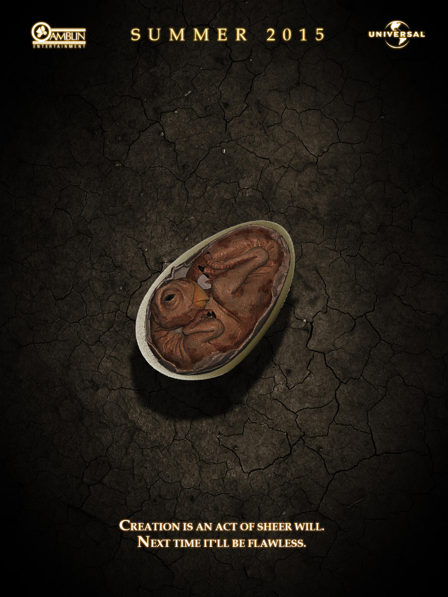 Jurassic Park Teaser Poster 2 by ioinme