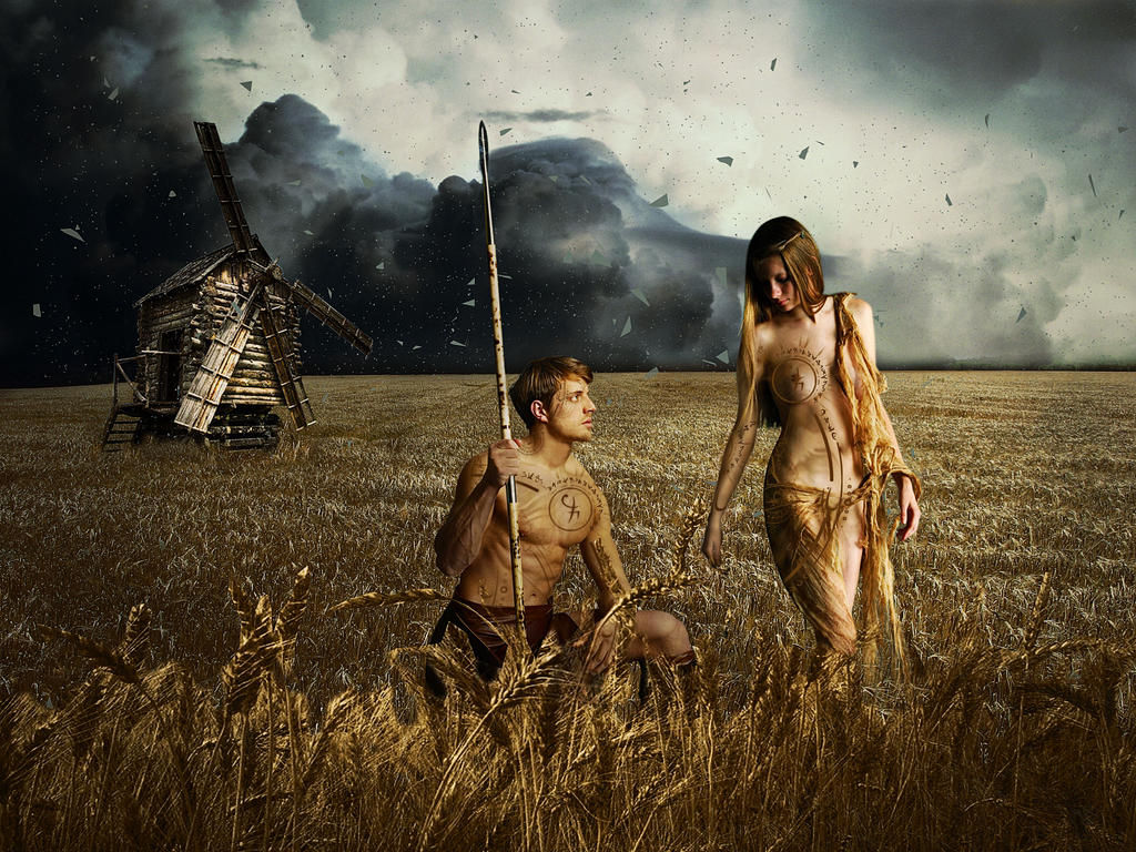 Tribe-couple5 by gardjeto7