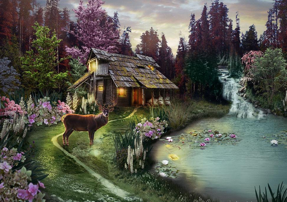 Wooden House by gardjeto7