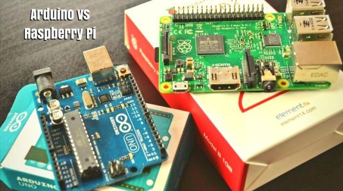 Comparison of arduino vs raspberry pi starter kit by
