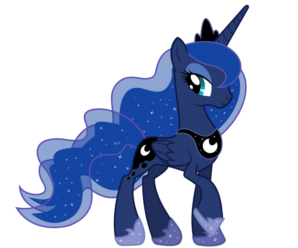 Macdaddy Princess Luna by Pantera000