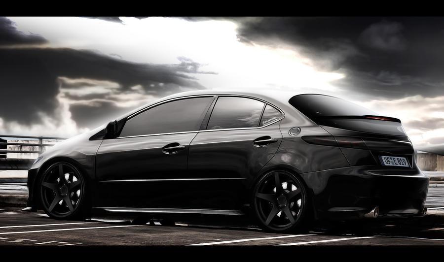 Honda civic black by seisman on deviantart for Honda owner login