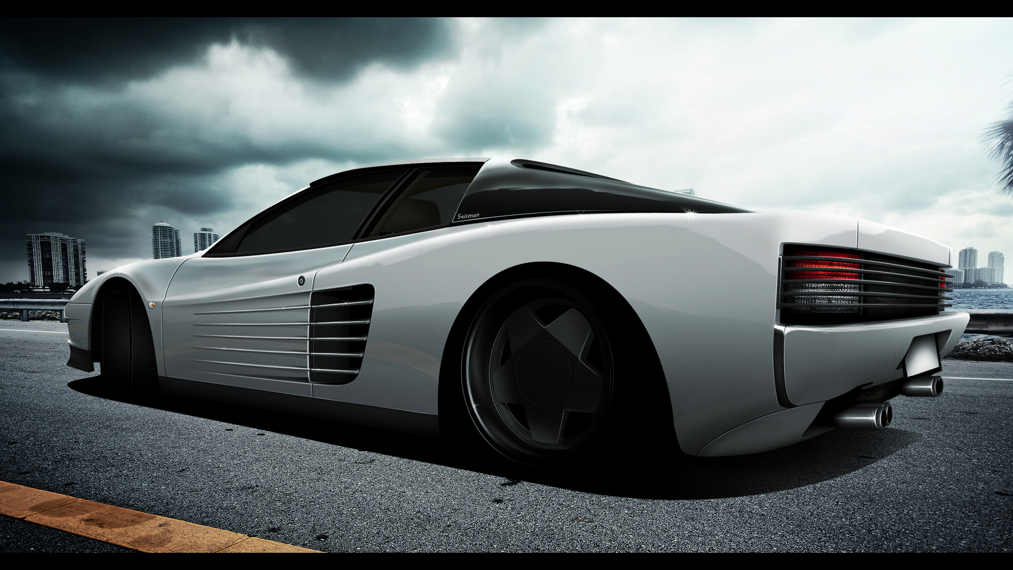 Ferrari Testarossa By Seisman On Deviantart