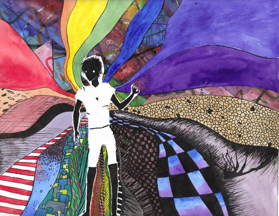 The Rainbow Man by Rainbow-man
