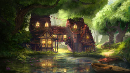 The Tadpole Tavern by RuefulRaptor